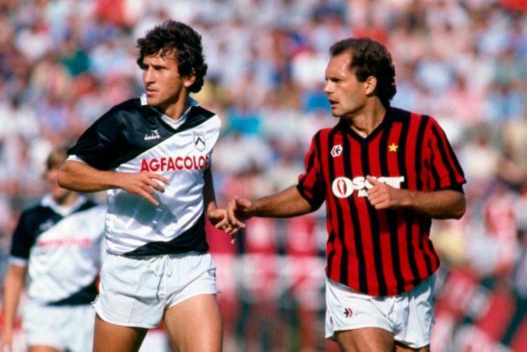 Udinese-Milan 1984-1985