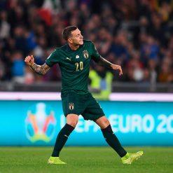 Bernardeschi in Italia-Grecia gol