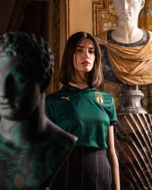 Maglia Italia verde donna Puma