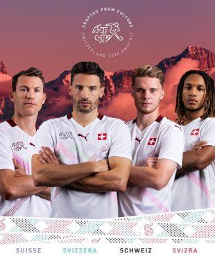 Seconda maglia Svizzera 2020