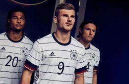 Germania nuova maglia Europei 2020