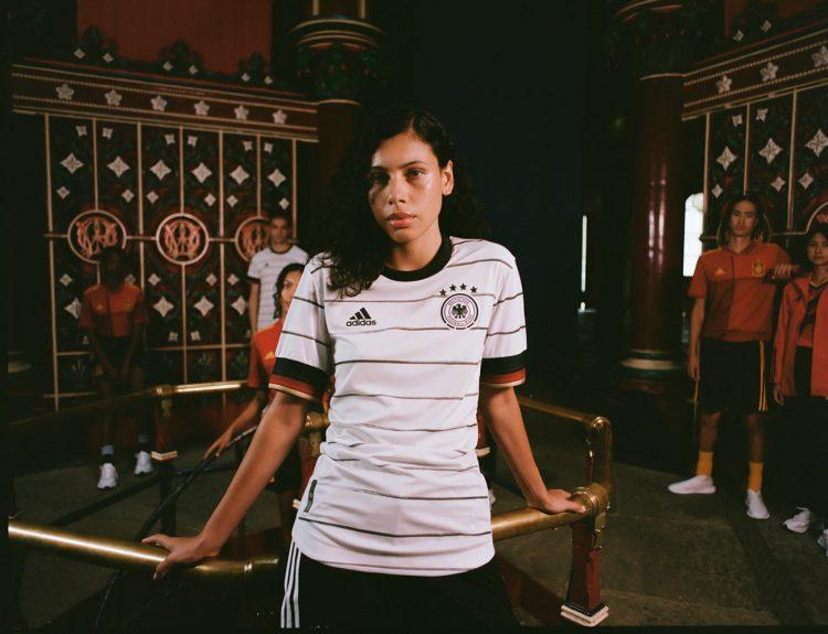 La nuova maglia della Germania per Euro 2020