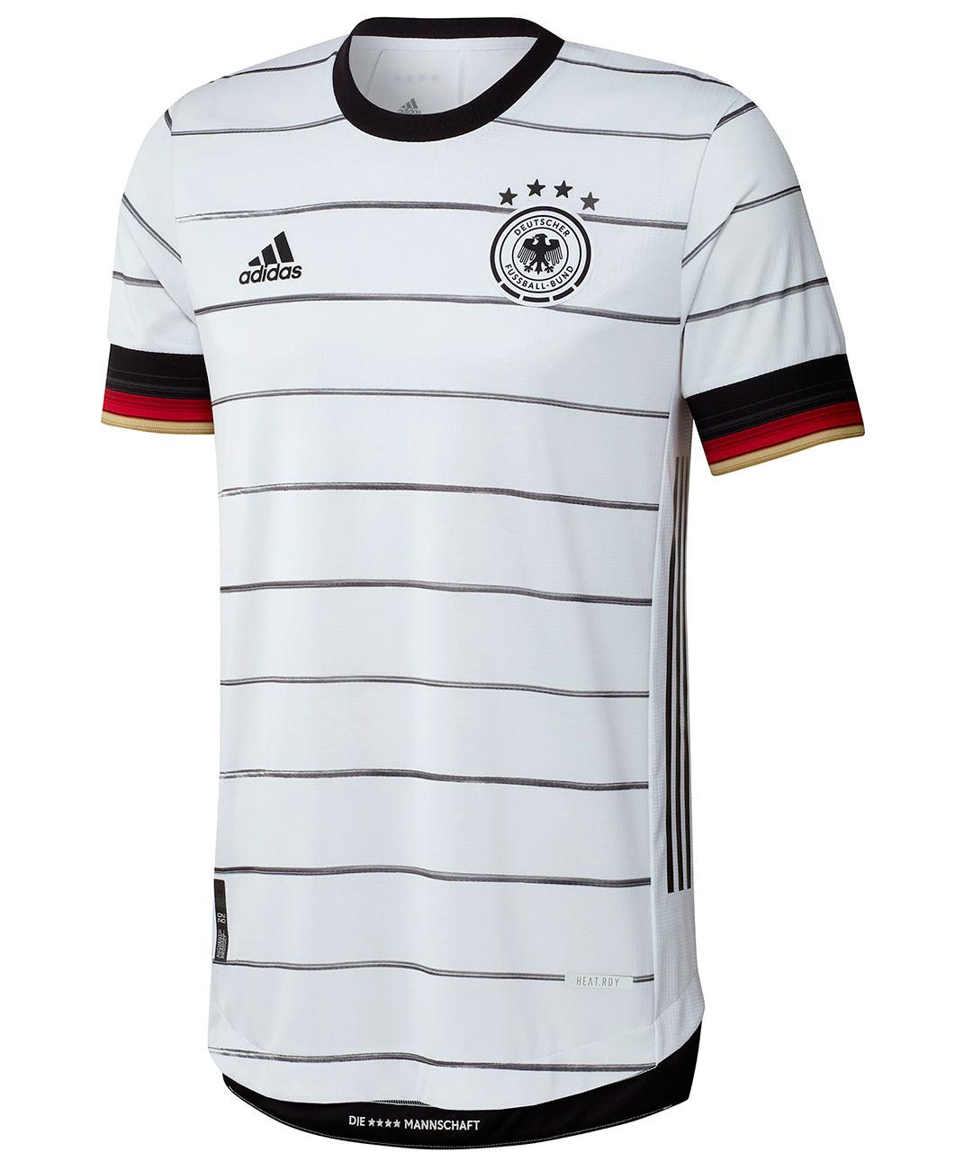 Maglia Germania Europei 2020 adidas, torna il tricolore tedesco