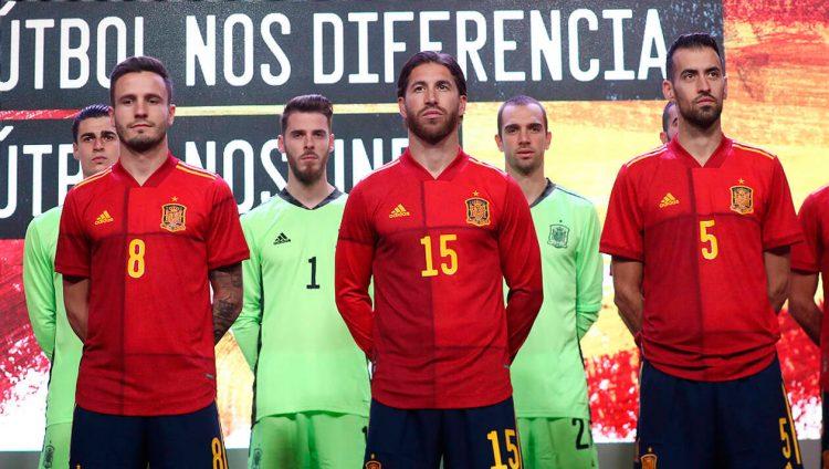 Presentazione maglia Spagna 2020