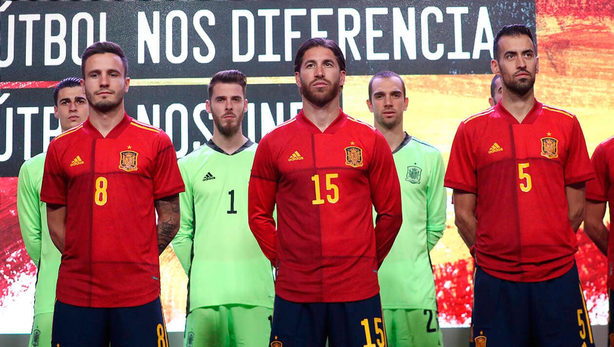 Maglia Spagna Europei 2020, adidas propone 6 tonalità di rosso!
