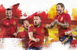 La nuova maglia della Spagna a Euro 2020