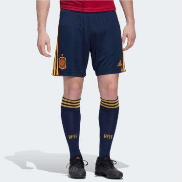 Pantaloncini e calze blu Spagna 2020