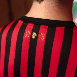 Retro colletto maglia Milan 120