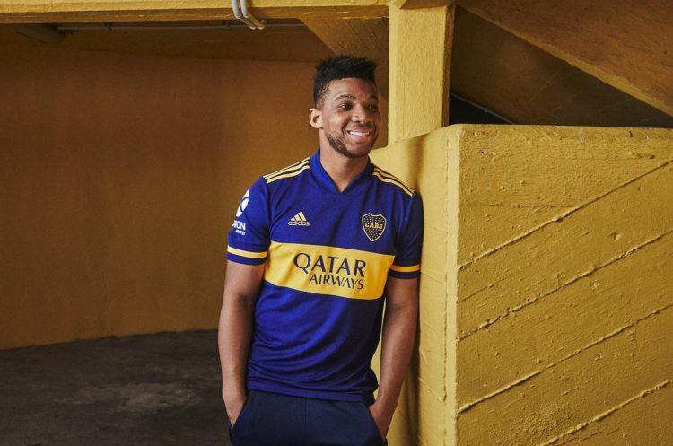 La nuova maglia del Boca juniors