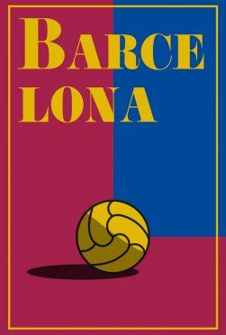Barcellona Minimal Poster