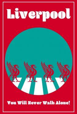 Liverpool Minimal Poster