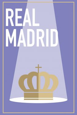 Real Madrid Minimal Poster