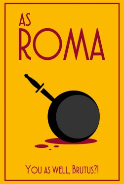 Roma Minimal Poster