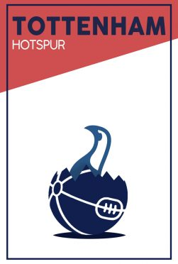 Tottenham Minimal Poster