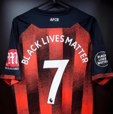 Bournemouth retro maglia numero 7