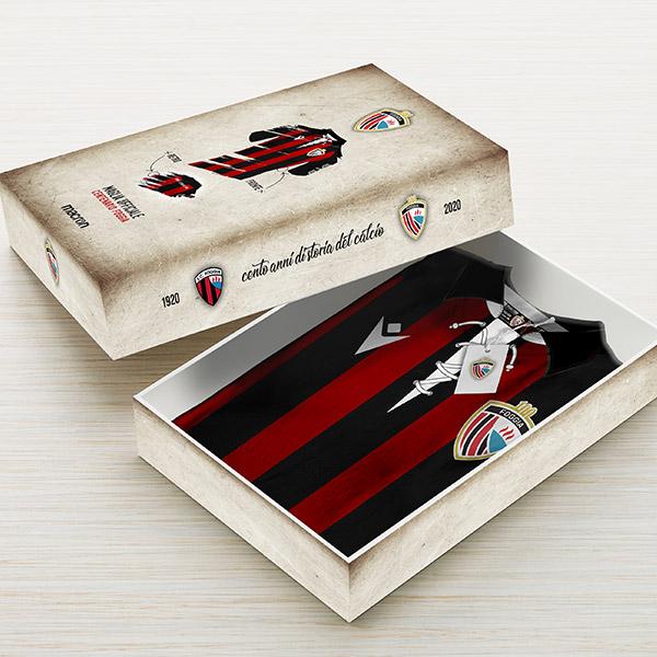 Cofanetto maglia Foggia Centenario