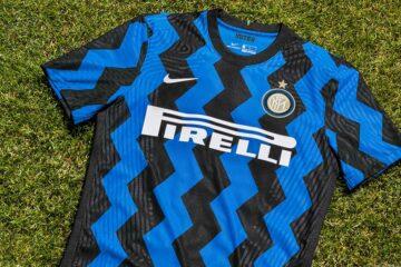 La nuova maglia dell'Inter 2020-2021