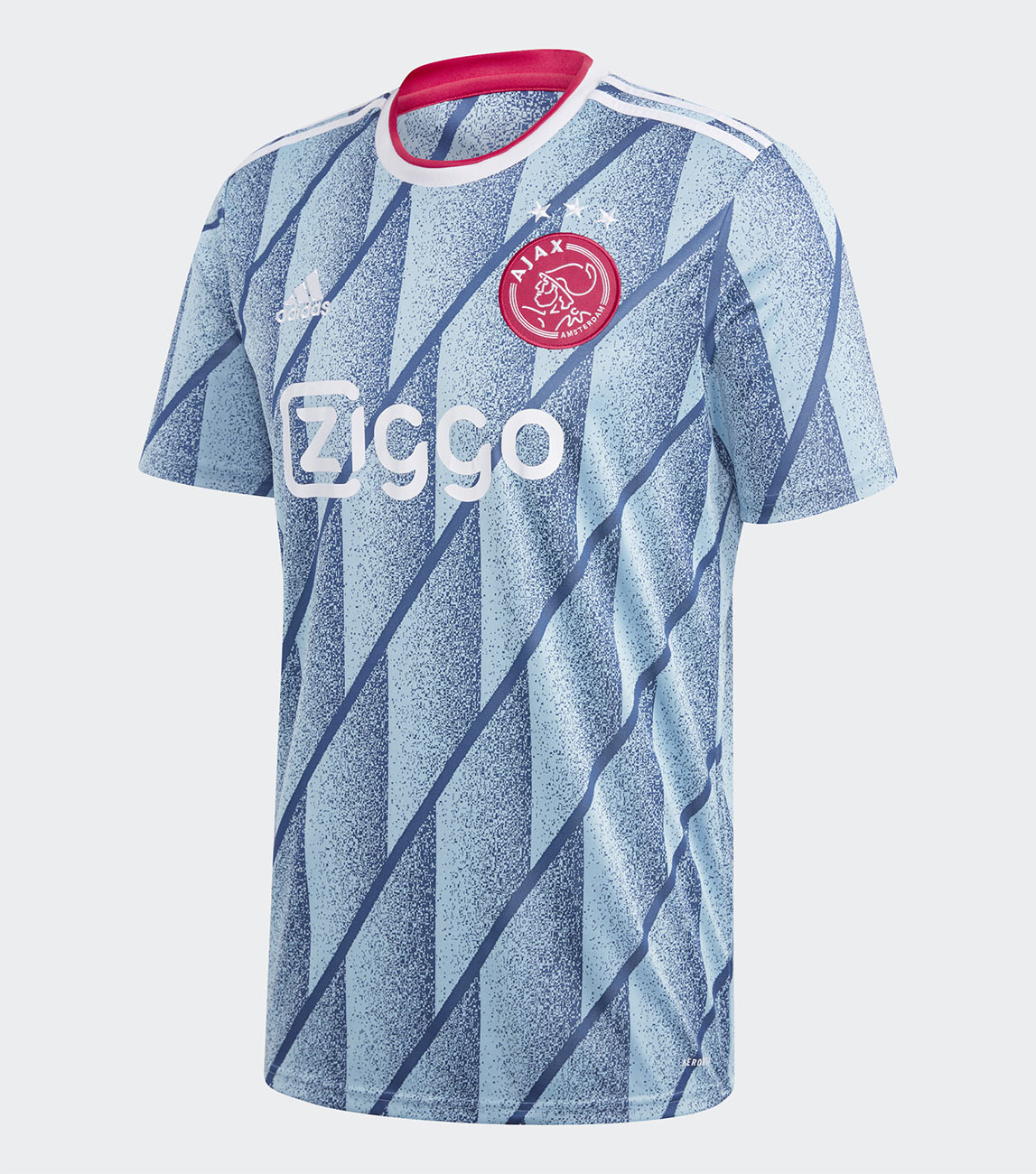 Maglia away Ajax 2020-2021, Adidas osa con un look anni 90