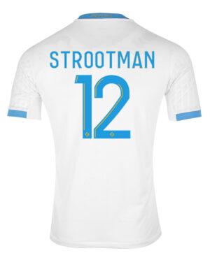 Strootman 12 maglia home Marsiglia