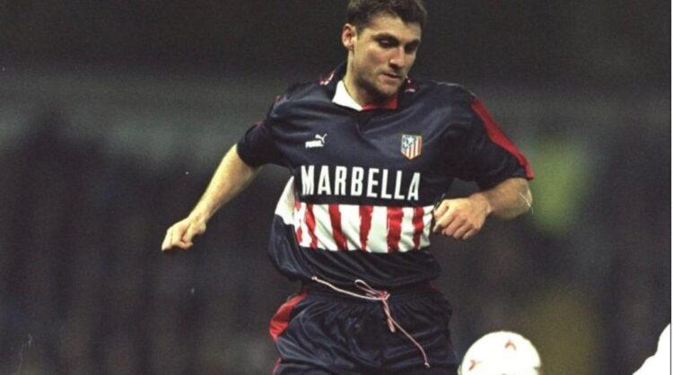 Seconda maglia Atletico Madrid 1997-98