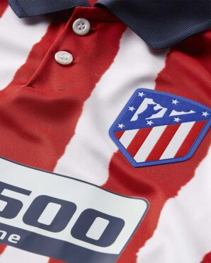Atletico Madrid home 2020-21 colletto blu