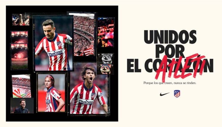 Poster campagna Atletico Madrid 2020-21 Nike