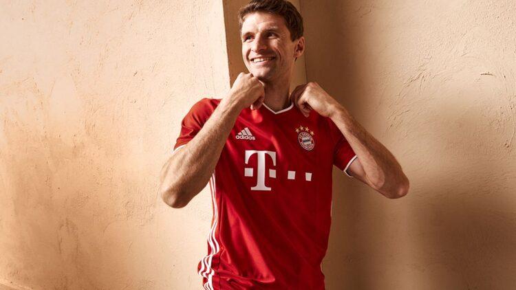 Muller nuova maglia Bayern Monaco