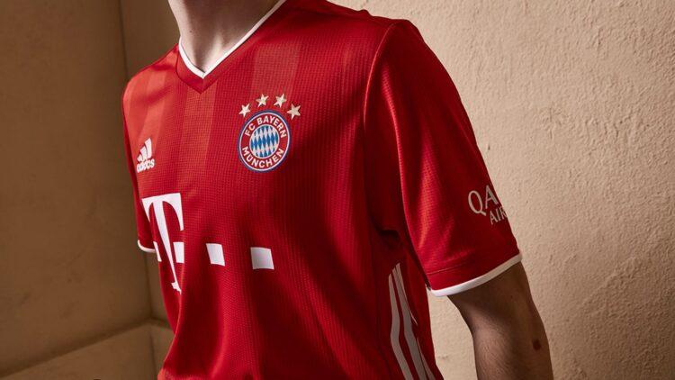 Le strisce verticali sulla maglia del Bayern