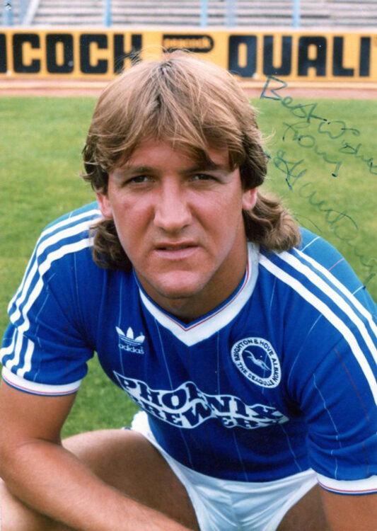 Alan Young, divisa Brighton Adidas 1983-95