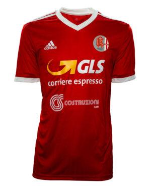 Seconda maglia Alessandria Adidas 2020-21 rossa