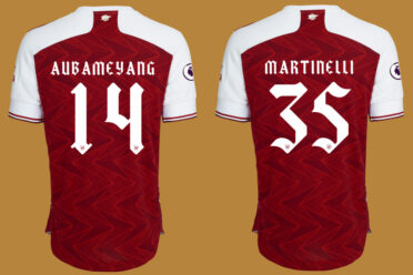 Font Arsenal 2020-2021 Cup