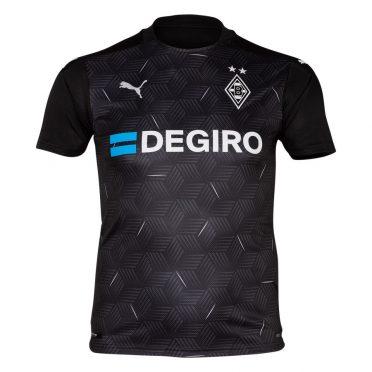 Seconda maglia Borussia Mönchengladbach fronte 2020-2021