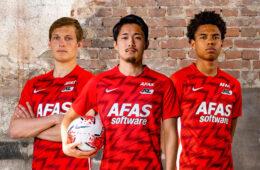 La nuova maglia dell'AZ Alkmaar 2020-2021 Nike
