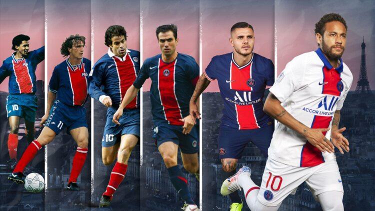 PSG kit storia