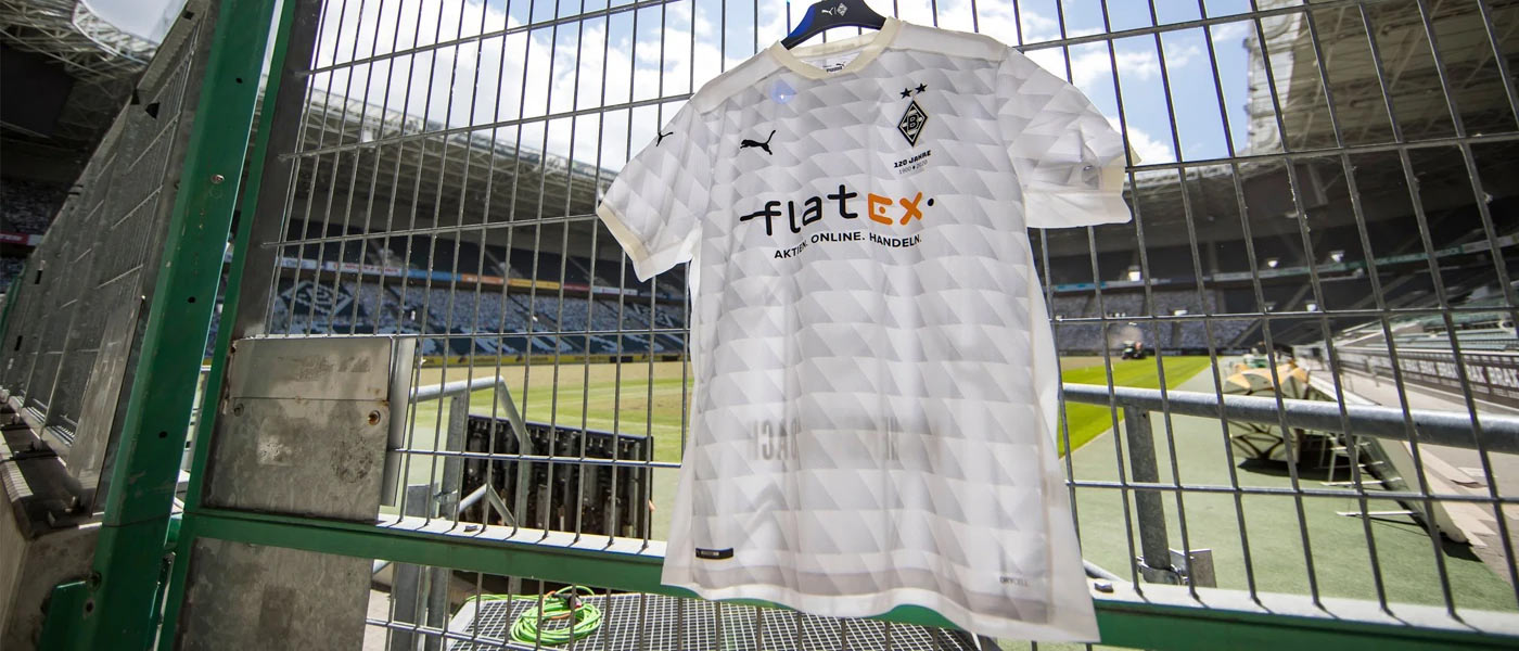 La nuova maglia del Borussia Monchengladbach 2020-21