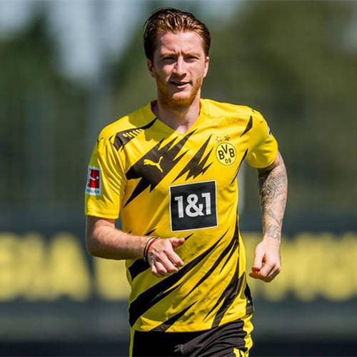 Maglia Borussia Dortmund 2020-2021 con i fulmini di Puma