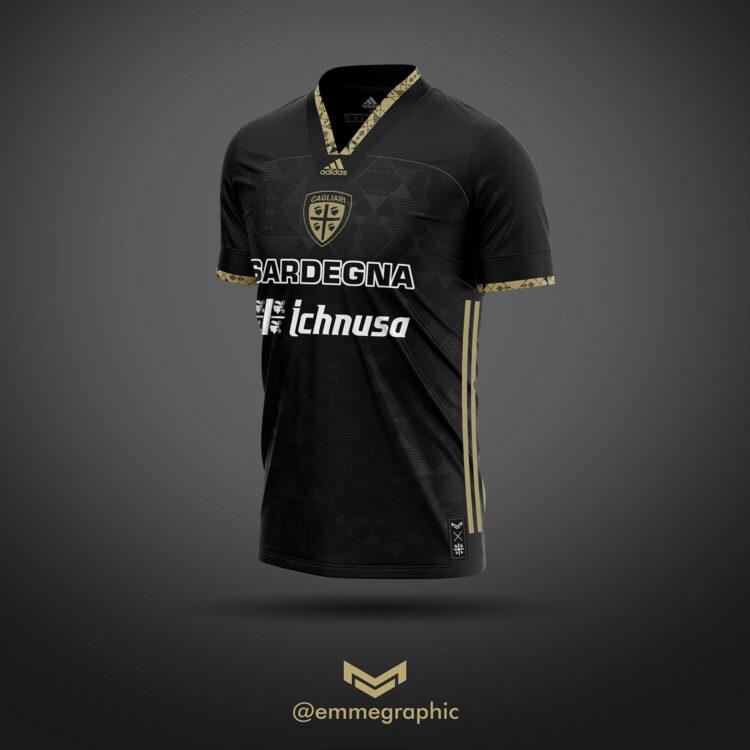 Cagliari maglia third adidas - Emmegraphic