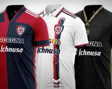 Cagliari-Adidas concept kit