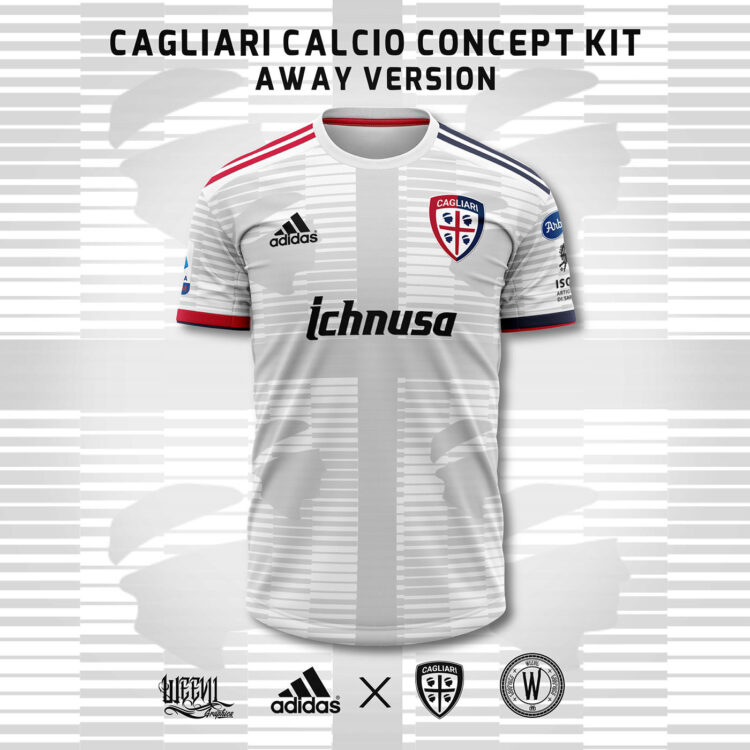 Maglia Cagliari Weevil away adidas