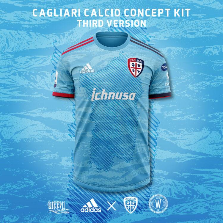 Maglia Cagliari Weevil third adidas