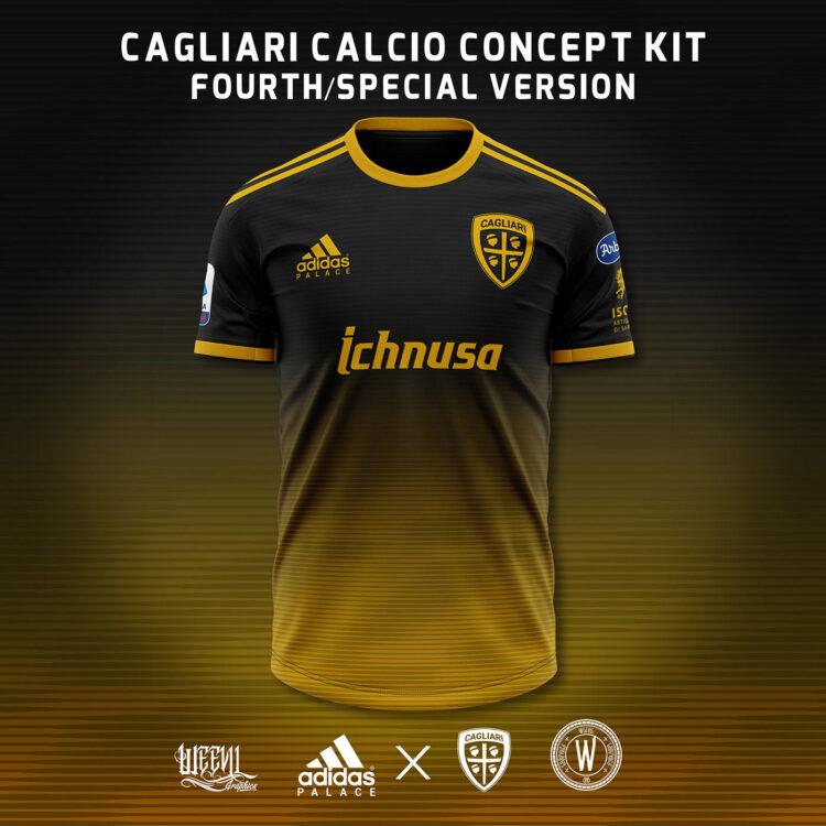 Maglia Cagliari Weevil special adidas