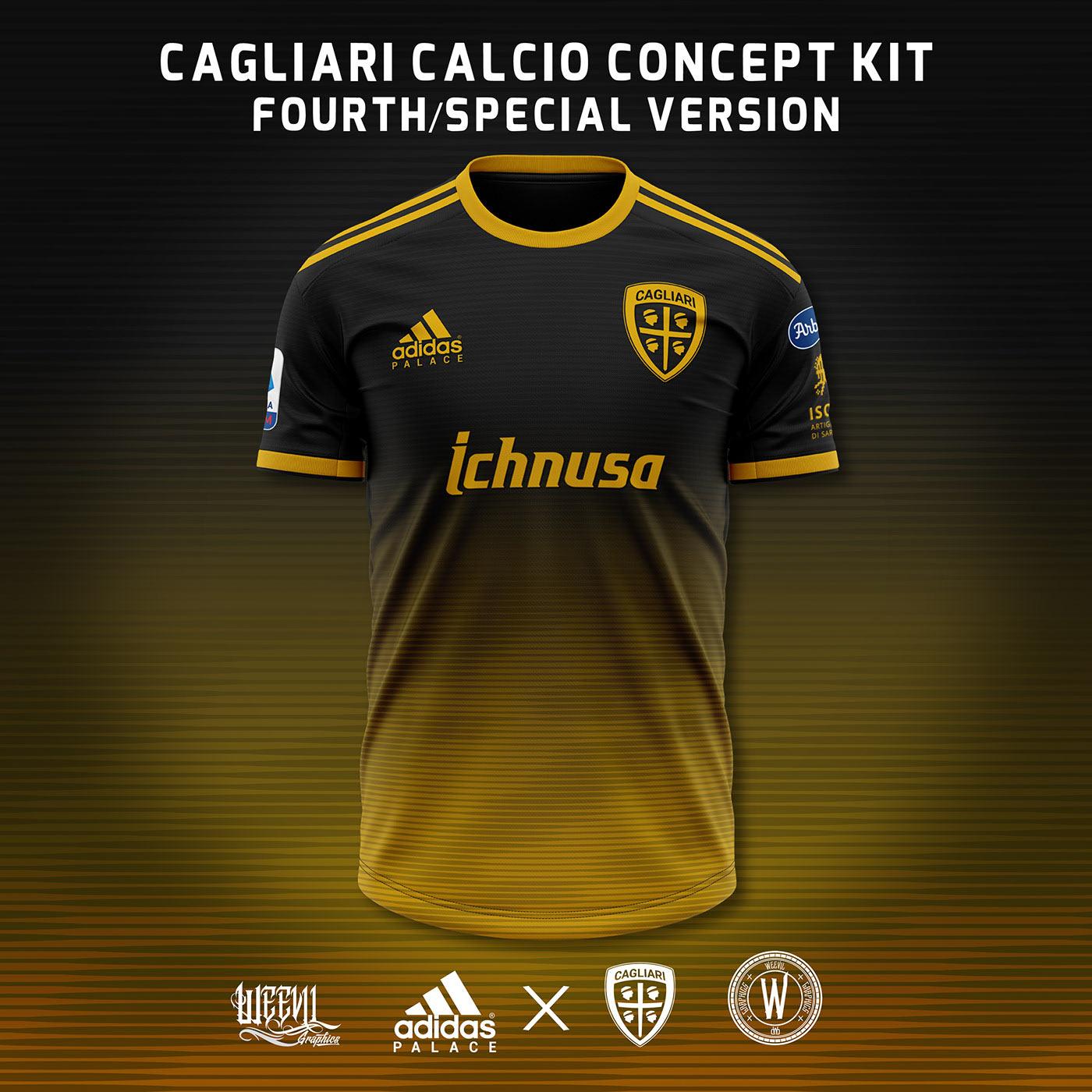 Cagliari-Adidas, ecco come potrebbero essere le nuove maglie