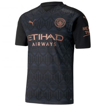 Seconda maglia maglia Manchester City 2020-21