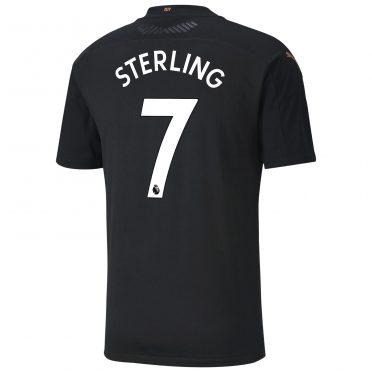 Seconda maglia maglia Manchester City 2020-21 Sterling 7