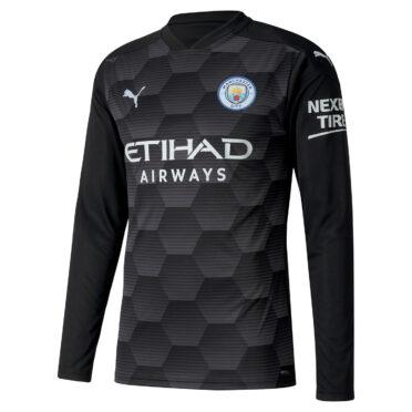 Maglia portiere Manchester City 2020-21 nera