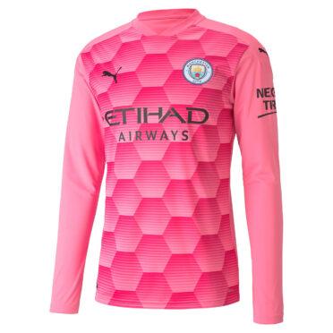 Maglia portiere Manchester City 2020-21 rosa