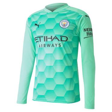 Maglia portiere Manchester City 2020-21 verde