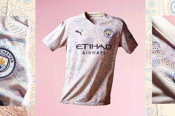 Manchester City nuova terza maglia 2020-21
