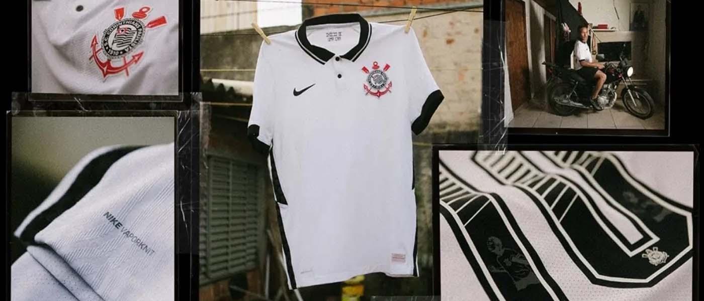 La nuova maglia del Corinthians 2020-21