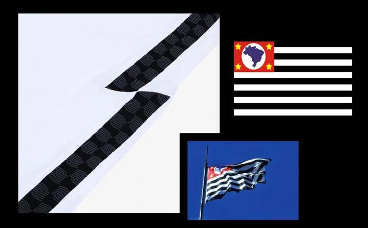 Corinthians bandiera Sao Paulo